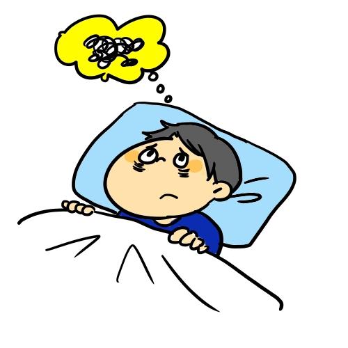 不安 で 眠れ ない とき